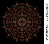 company name mandala nature eps ... | Shutterstock .eps vector #2014093016