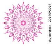 company name mandala nature eps ... | Shutterstock .eps vector #2014093019