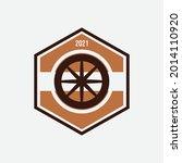 automobile rubber tire shop ... | Shutterstock .eps vector #2014110920