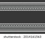 geometric ethnic pattern... | Shutterstock .eps vector #2014161563