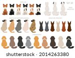 Sitting Dogs Backside Clipart ...