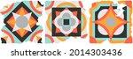 ceramic tile abstract pattern.... | Shutterstock .eps vector #2014303436