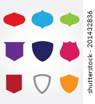 a huge collection of vector... | Shutterstock .eps vector #201432836