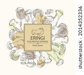 background with eringi  eringi... | Shutterstock .eps vector #2014352336