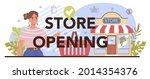 store opening typographic... | Shutterstock .eps vector #2014354376