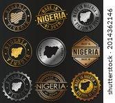 nigeria business metal stamps.... | Shutterstock .eps vector #2014362146