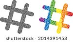 jail grid composition icon of...   Shutterstock .eps vector #2014391453