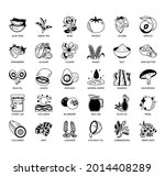 cosmetic ingredients  thin line ...   Shutterstock .eps vector #2014408289