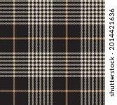 brown asymmetric plaid textured ...   Shutterstock .eps vector #2014421636