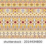 sacral tribal ethnic motifs... | Shutterstock .eps vector #2014434800
