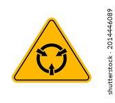 electrostatic sensitive device  ...   Shutterstock .eps vector #2014446089
