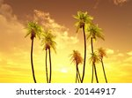 beautiful sunset | Shutterstock . vector #20144917