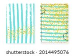 shiny gold pattern. turquoise...   Shutterstock .eps vector #2014495076