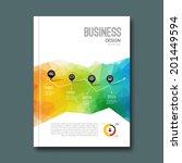 business design background.... | Shutterstock .eps vector #201449594