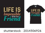 life is impossible with out... | Shutterstock .eps vector #2014506926
