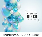 3d abstract background with... | Shutterstock .eps vector #2014513400