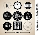 collection of premium quality... | Shutterstock .eps vector #201452570
