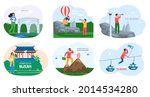 welcome to busan advertising... | Shutterstock .eps vector #2014534280