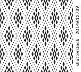 ikat seamless pattern for home... | Shutterstock .eps vector #2014612739