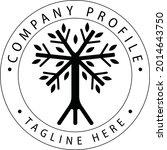 tree of life circle logo | Shutterstock .eps vector #2014643750
