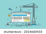 website under construction page....   Shutterstock .eps vector #2014660433