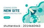website under construction page....   Shutterstock .eps vector #2014660463