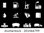 oil and petrol industry objects ... | Shutterstock .eps vector #201466799