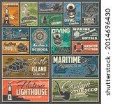 Nautical And Marine Vintage...