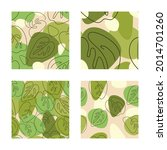 a collection of seamless... | Shutterstock .eps vector #2014701260