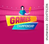 Games Championship Concept With ...