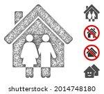 mesh property web icon vector... | Shutterstock .eps vector #2014748180