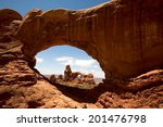 turret arch | Shutterstock . vector #201476798