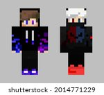 concept pixel characters. skins ...