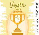 international youth day  ... | Shutterstock .eps vector #2014815959