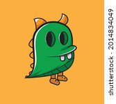 doodle monsters can be... | Shutterstock .eps vector #2014834049