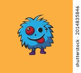 doodle monsters can be... | Shutterstock .eps vector #2014835846