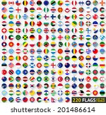220 flags of the world ...