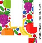 vector letter of the russian...   Shutterstock .eps vector #2014875626