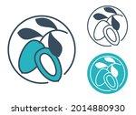 jojoba oil ingredient   flat...   Shutterstock .eps vector #2014880930