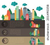 city elements for creating your ... | Shutterstock .eps vector #201490358