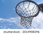 Basketball Hoop And Backboard...
