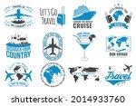set of travel badge  logo...   Shutterstock .eps vector #2014933760