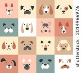 cute dogs for kids and baby ... | Shutterstock .eps vector #2014966976