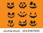 collection of halloween... | Shutterstock .eps vector #2014987850
