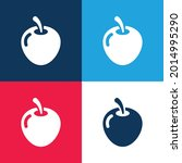 big apple blue and red four...   Shutterstock .eps vector #2014995290
