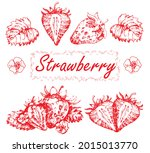 set of vector drawings of...   Shutterstock .eps vector #2015013770