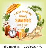 last minute. summer vacation... | Shutterstock .eps vector #2015037440