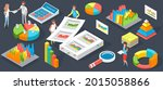 visualize with business... | Shutterstock .eps vector #2015058866