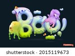 halloween background. boo...   Shutterstock .eps vector #2015119673