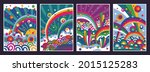 colorful skies vector...   Shutterstock .eps vector #2015125283